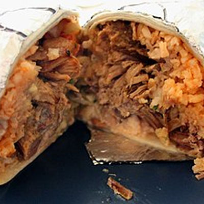 Meat Lover Burrito